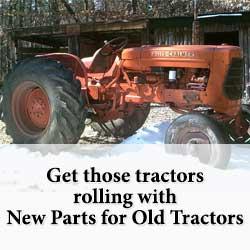 Allis Chalmers Tractor Restoration information