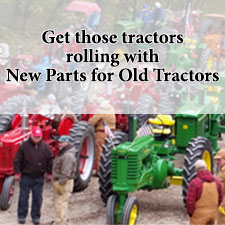 Steiner Tractor Parts helps you restore your antique tractor
