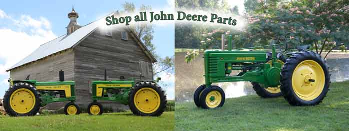 New Parts to fit your old John Deere tractors