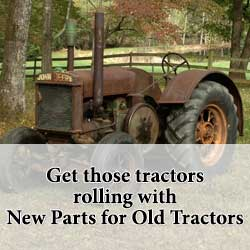 New Parts fit vintage John Deere tractors