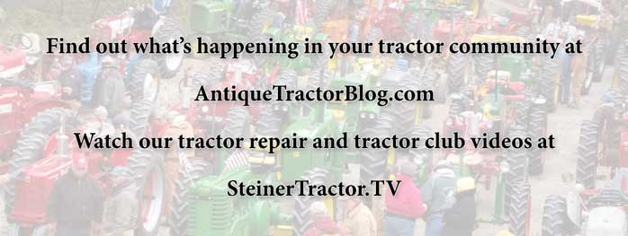 Check out SteinerTractor.TV for free tractor repair videos