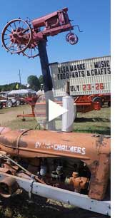Northern Michigan Antique Flywheelers Show Video