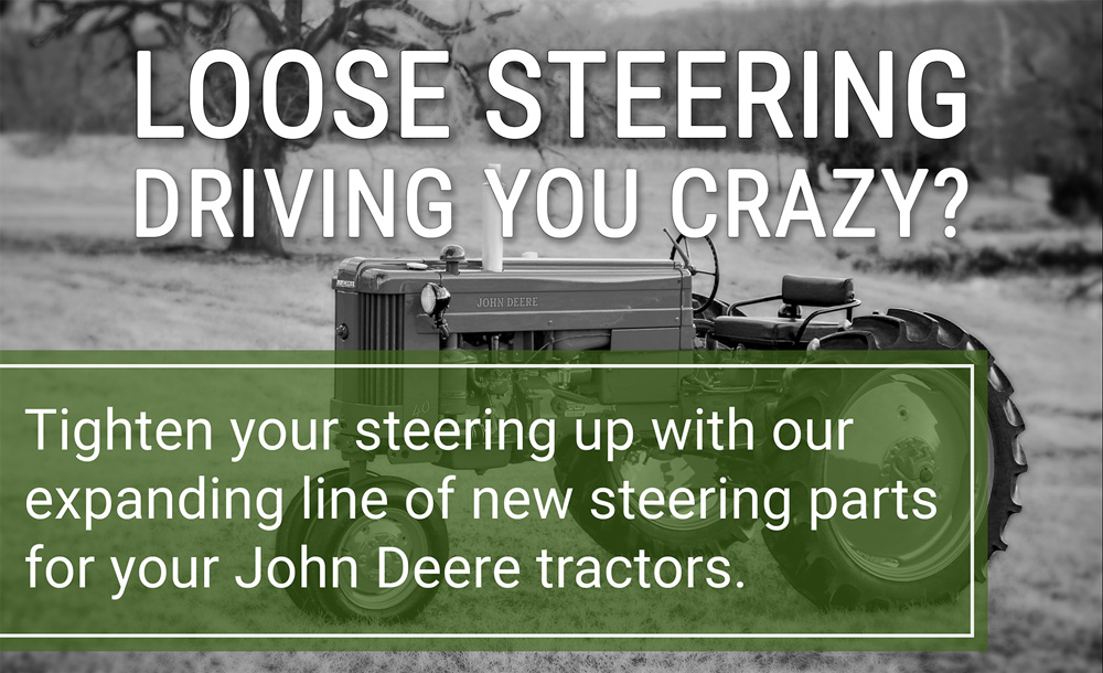 Loose Steering Driving You Crazy?