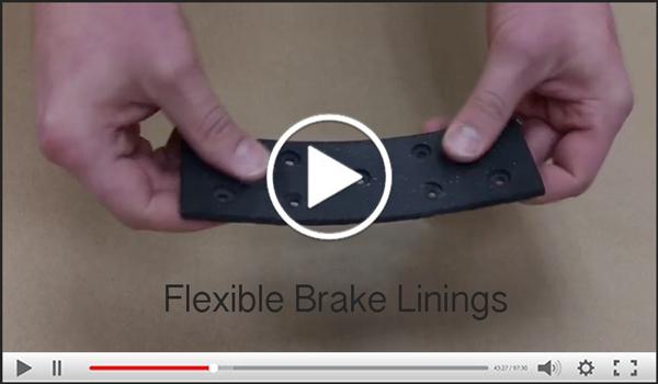 Flexible Brake Linings Video