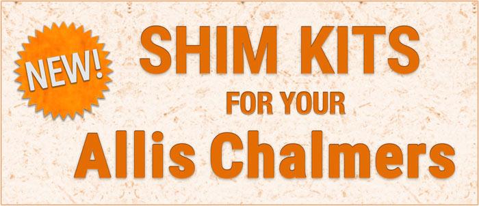 Allis Chalmers Shim Kits