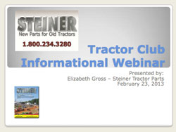 Tractor Clube Informational Presentation